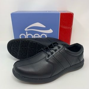 Abeo Black Smart 3810 Casual Oxford Comfort Shoes